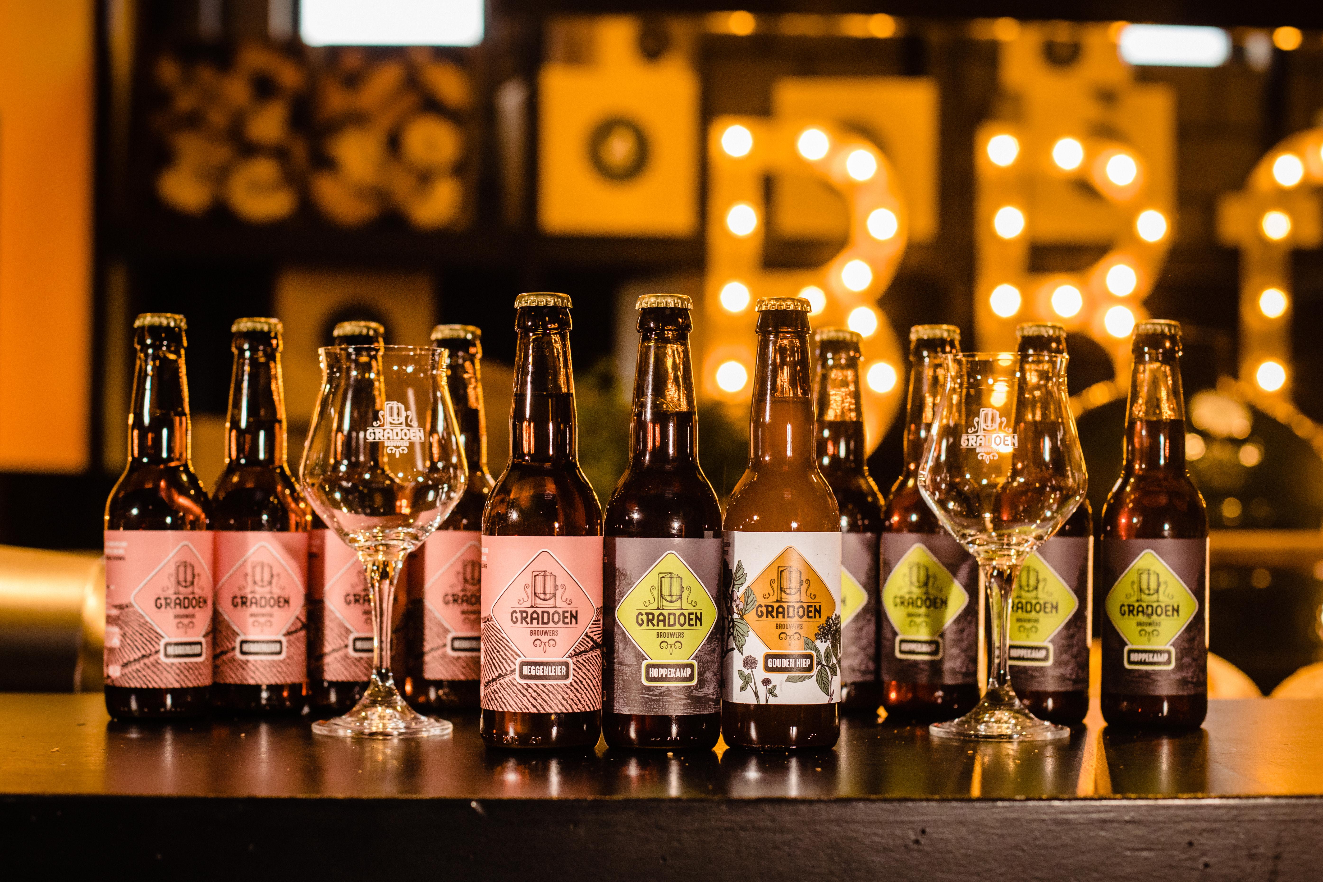 Het begin van onze bierkaart