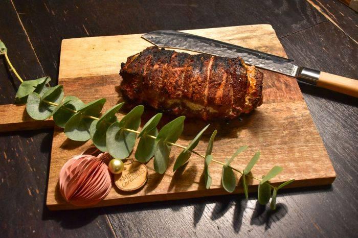 Spicy rollade van de varkenslende